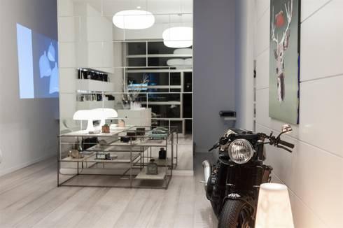 dora live: Spa in stile in stile Eclettico di studiooxi