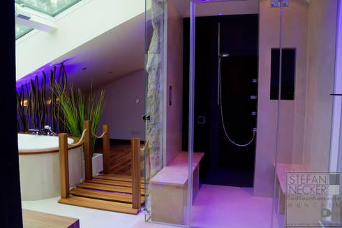 Attractive Modern Bathroom By Stefan Necker BadRaumKonzepte