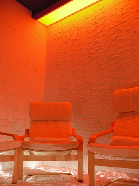 ONE TO ONE: Spa in stile in stile Moderno di Studio Stefano Pediconi