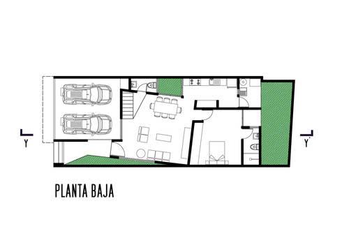 Casa Tres:  de estilo  por Gerardo ars arquitectura