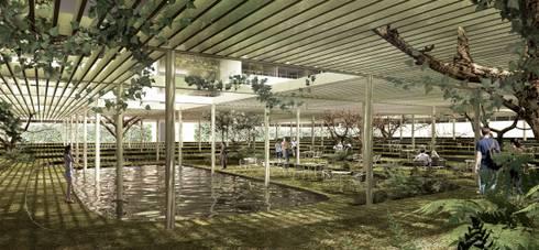 Espacio interior del Atrium:  de estilo  por City Ink Design