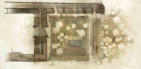 Planta arquitectónica:  de estilo  por City Ink Design
