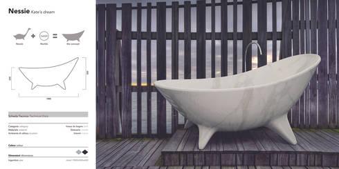 Nessie: Bagno in stile  di MORENO RATTI