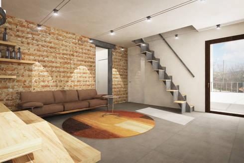 Interno S+S:  in stile  di Danilo Drudi Architetto