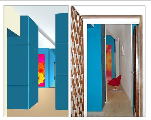 casa MP: Case in stile in stile Moderno di Cigala Tropiano