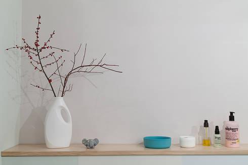 kinderbad pastel von berlin interior design homify. Black Bedroom Furniture Sets. Home Design Ideas