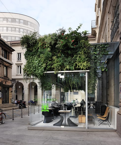 Trussardi Cafe: Gastronomia in stile  di Carlo Ratti Associati