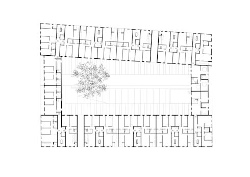 190 case in Salburua: Casa in stile  di Roberto Ercilla