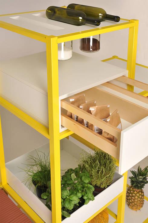 minimalistische Keuken door Friday Project