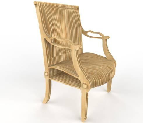 le fauteuil louis xvi is back par thomas de lussac design lab homify. Black Bedroom Furniture Sets. Home Design Ideas
