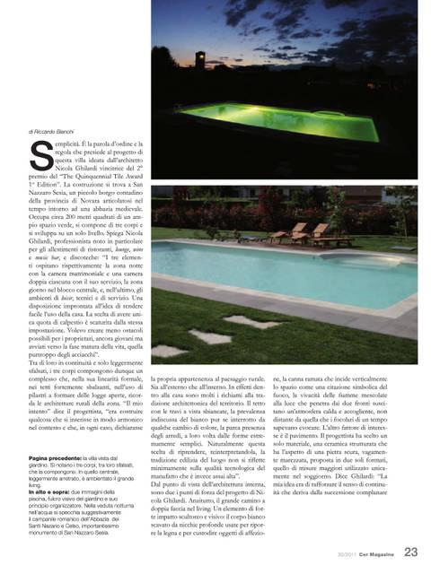 Articolo:  in stile  di Nicola G Design