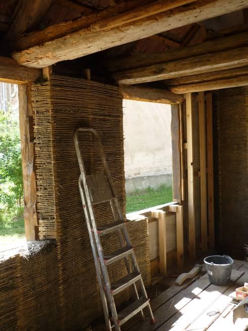 Innenwanddämmung:  Häuser von Gabriele Riesner Architektin