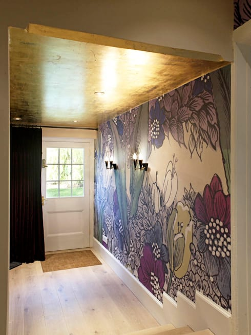Hallway, The Wilderness, Wiltshire, Concept Interior: eclectic Corridor, hallway & stairs by Concept Interior Design & Decoration Ltd