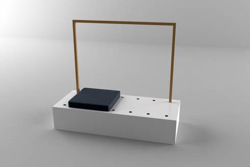 Il contenuto: Ingresso, Corridoio & Scale in stile in stile Moderno di Architetto Paola Cocco