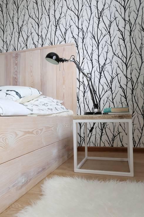 scandinavian Bedroom by Isladesign