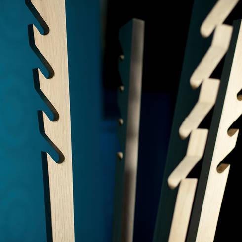 èLUNAPIENA – Doga: Ingresso, Corridoio & Scale in stile in stile Moderno di Architetto ANTONIO ZARDONI