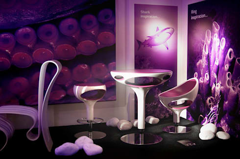 Underwater Design: Spazi commerciali in stile  di Giancarlo Zema Design Group