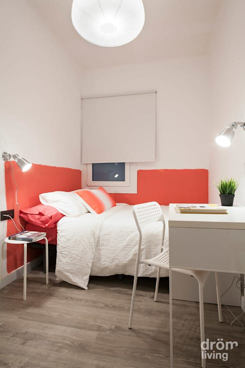 Dormitorios de estilo  por Dröm Living