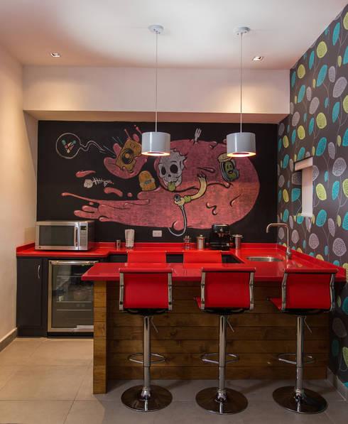Edificio Niños  Heroes - Grupo Arsciniest: Edificios de Oficinas de estilo  por Grupo Arsciniest