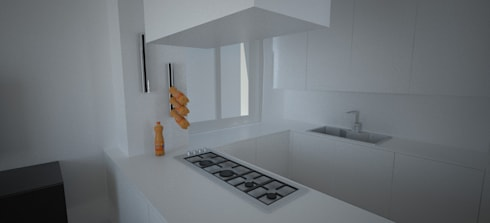 Scivolo: Cucina in stile in stile Industriale di desink.it