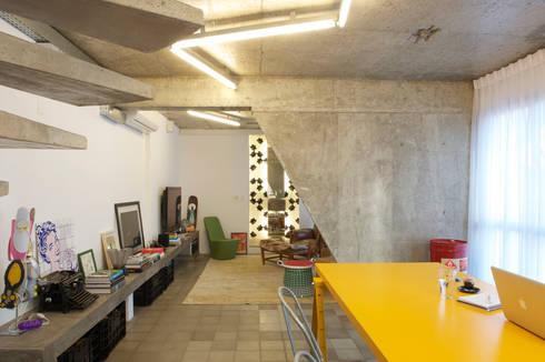 Residência Harmonia: Salas de jantar modernas por Mauricio Arruda Design