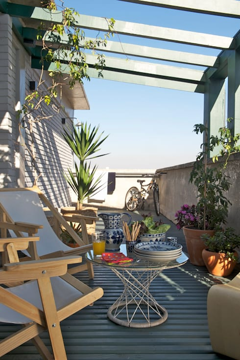 Terrace by Mauricio Arruda Design