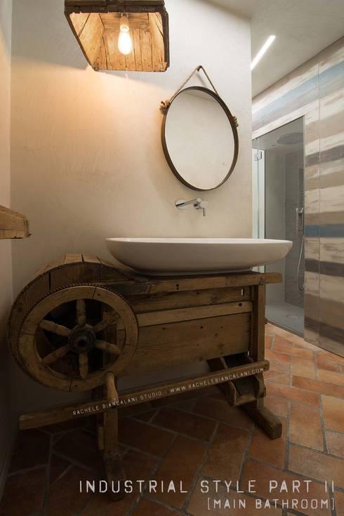 Casa de banho  por Rachele Biancalani Studio