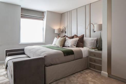 Eaton Mews North - Master Bedroom: modern Bedroom by Roselind Wilson Design