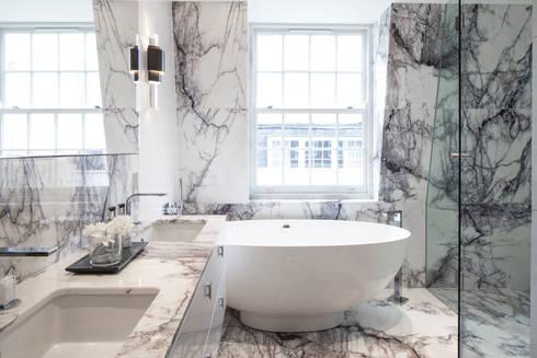 Eaton Mews North - Master Bathroom: modern Bathroom by Roselind Wilson Design
