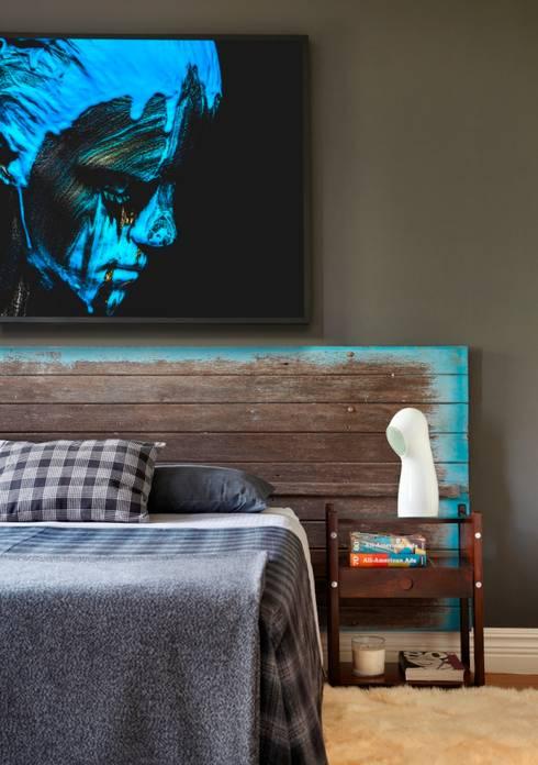 moderne Slaapkamer door STUDIO GUILHERME TORRES