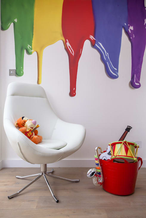 Play Room:  Nursery/kid's room by Roselind Wilson Design