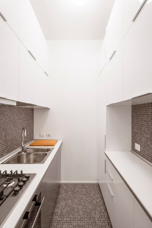 Private apartment _ LPC: Cucina in stile in stile Moderno di cristianavannini | arc