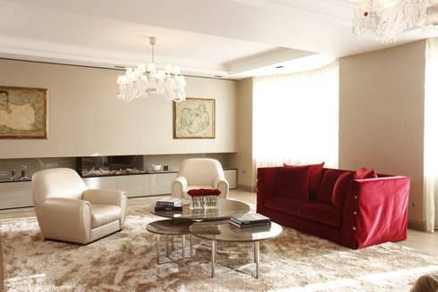 Living Room: modern Living room by Roselind Wilson Design