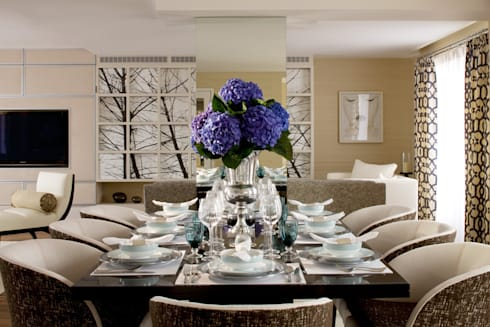 Dining Area: classic Dining room by Roselind Wilson Design