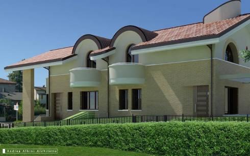 Residenza <q>le Querce</q>: Case in stile in stile Moderno di Albini Architettura