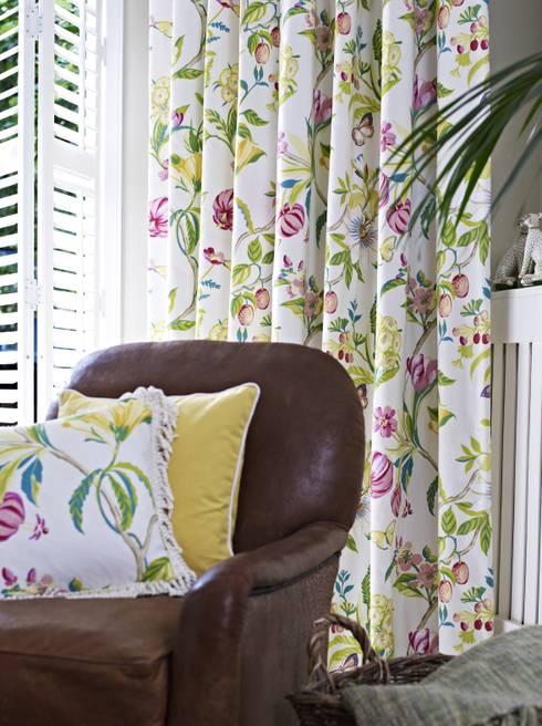 klassische Wohnzimmer von Prestigious Textiles