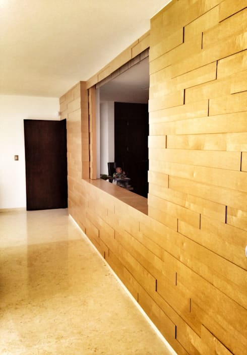 Casa Jurica: Cocinas de estilo moderno por REM Arquitectos