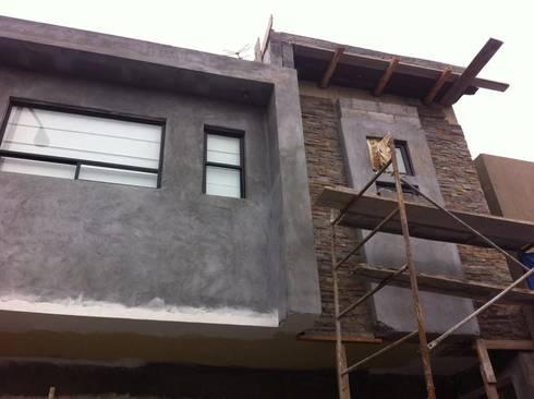 REMODELACION CASA – HABITACION: Casas de estilo moderno por ED+C ARQUITECTOS