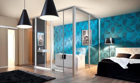 Sliding Wardrobe Doors: modern Bedroom by Sliding Wardrobes World Ltd
