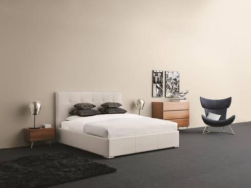 schlafzimmer von boconcept germany gmbh homify. Black Bedroom Furniture Sets. Home Design Ideas