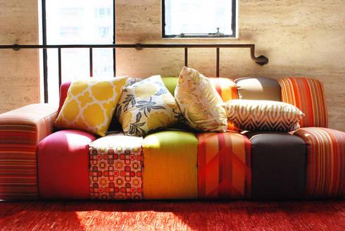 Cushion Covers:   by Kara Fabric