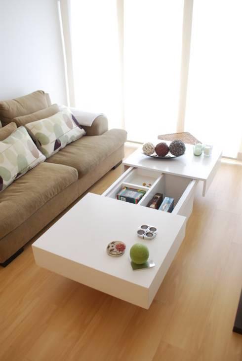 Mesa cofre: Hogar de estilo  por Muebles muc.