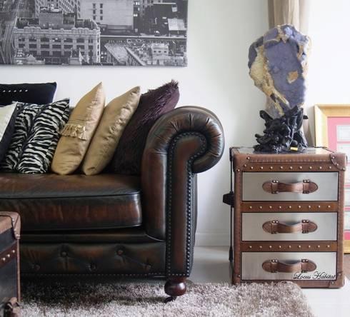 Chesterfield Sofa & Leather Furniture from Locus  Habitat: classic Living room by Locus Habitat