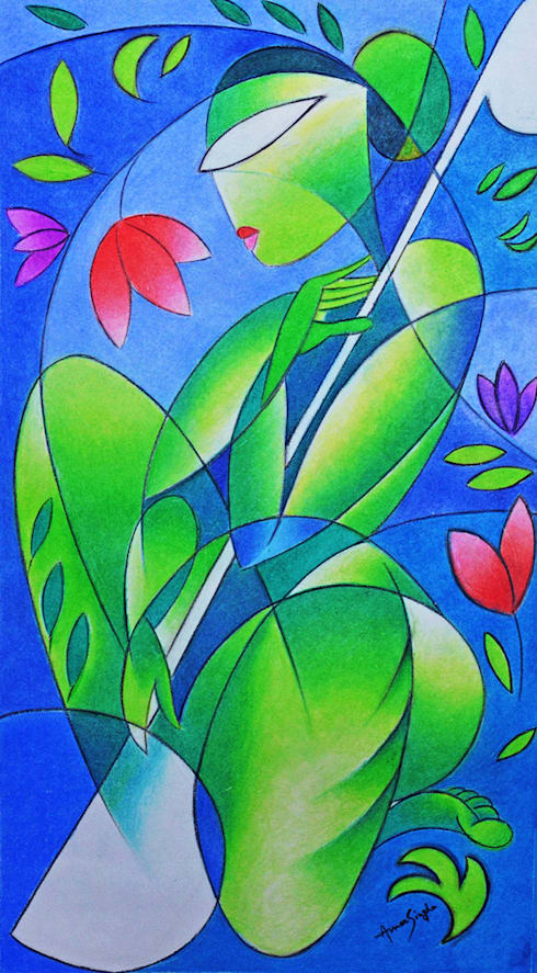 Song Of Nature:  Artwork by Self employed artist