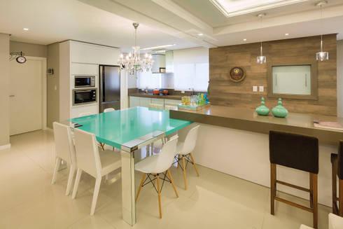 Gourmet: Salas de jantar modernas por AL11 ARQUITETURA