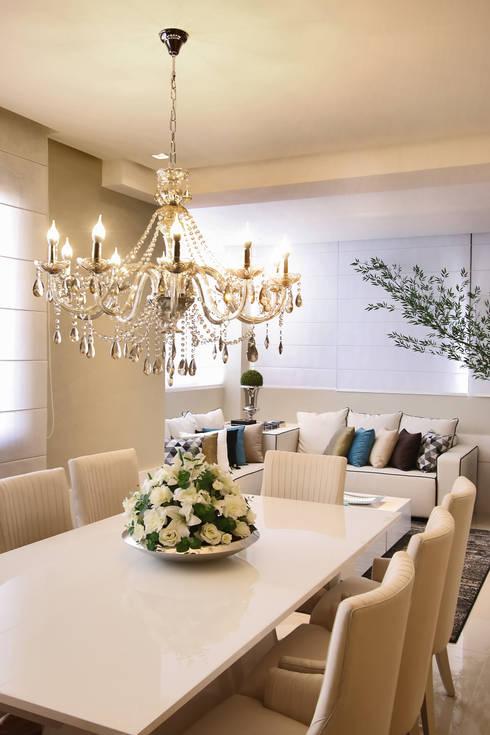 Jantar: Salas de jantar clássicas por AL11 ARQUITETURA