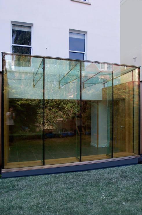 Jardin d'hiver de style  par Emmett Russell Architects
