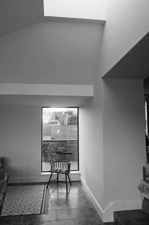 The Old Rectory, Wolvesnewton:  Dining room by Emmett Russell Architects