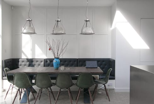 Mortimer Road, De Beauvoir:  Dining room by Emmett Russell Architects