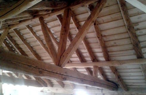 Rehabilitación vivienda, Marugán: Hogar de estilo  de Ear arquitectura